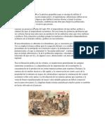 El Neocolonialismo Es La Práctica Geopolítica Que Se Encarga de Utilizar El Mercantilismo