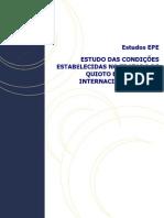 EPE - CONDIÇÕES GERAIS DO PROTOCOLO DE QUIOTO APLICÁVEIS A