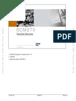 SCM270 Flexible Planning