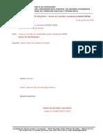 Modelo de Comunicação Interna