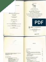 LIB. Economía Política de La Nostalgia. Juan Pablos