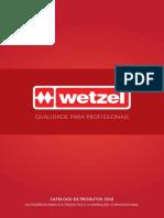 Wetzel - Catálogo Geral 2018