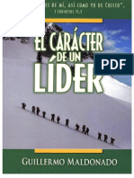 Caracter de Un Lider {Manual}