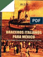 Braceros Italianos Para México