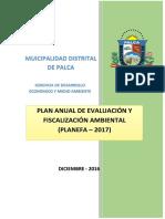 Planefa Municipalidad Distrital de Palca