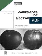 Variedades de Nectarinas