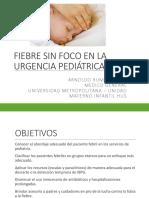 fiebre sin foco en pediatría urgencias