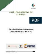 Catalogo General Cuentas