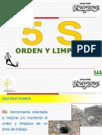 6. Orden y Limpieza - 5S