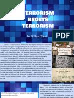 final project presentation  terrorism begets terrorism