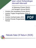 P9- Rate of Return