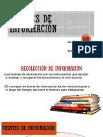 Fuentes d Einfromacion 3