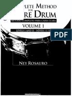Method for Snare Drum Nivel I e II