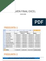 Examen Final Excel