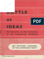 The Battle of Ideas