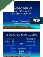 Comercio Internacional Contratos Exportacion