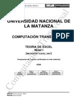 CT 1erC2018 Teorico Excel Nivel Desconocido