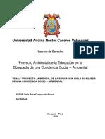 Proyecto Ambiental Universitario. Delia