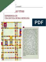 Vaca. Bibliotecas Vivas. Experiencia en Una Escuela Rural Mexicana