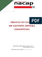 TALLER DE GESTION MINERA CASO N°1