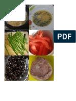 Cocina Internacional Menu