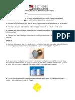 Práctica Calificada de Matemática Aplicada 02 Julio