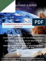 Tema 06. Significado de La Educación Cristiana