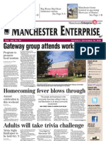 Manchester Enterprise Front Sept. 30