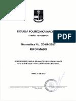 reglamento cd 04 17