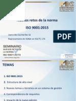 1 Nuevos Retos de La Norma Iso 9001 2015