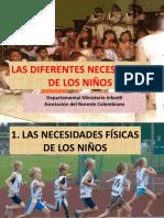 Tema 04. Las Diferentes Necesidades de Los Niños