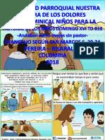 HOJITA EVANGELIO NIÑOS DOMINGO XVI TO B 18 Serie