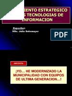 Semana 3 Alineamientoestrategicodelastecnologiasdeinformacion