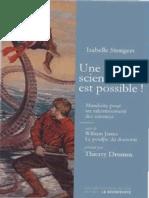 Stengers, Isabelle - Une Autre Science Est Possible ! _ Manifeste Pour Un Ralentissement Des Sciences Suivi de Le Poulpe Du Doctorat (La Decouverte)