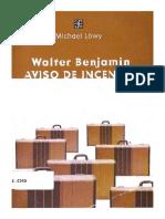 Texto - Walter Benjamin. Aviso de Incendio, Michael Lowy (20039