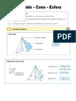 Guia de Piramide Cono Esfera