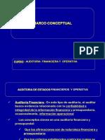 Conceptos y Objetivos de Auditoria Financiera