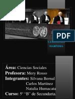 Alegatos orales de la demanda marítima Bolivia-Chile