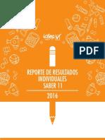 Reporte de Resultados Individuales 2016 JAJAJA
