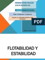 Flotabilidad y Estabilidad