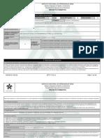 Reporte Proyecto Formativo - 1645429 - Mantenimiento de Bienes Electr