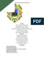 Letra e Himno a Huancavelica