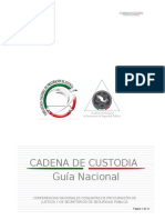 Cadena de Custodia - Guia Nacional.doc