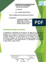 Distribucion Ecologica de Los Peces