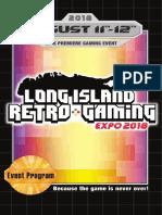 LIRG Expo Program 2018