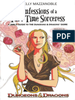 Mazzanoble, Shelly - Confessions of a Part-Time Sorceress a Girls Guide to the Dungeons & Dragons Game (2007) (2 Pages at a Time)