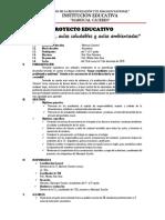 Proyecto Educativo Aulas Saludables
