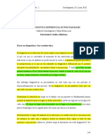 ElDiagnósticoDiferencialEnPsicoanálisis