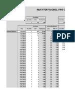 Belajar Metode FIFO di Excel