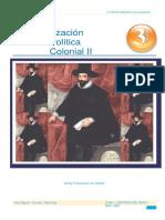 Sem 3 - Organización Política Colonial II